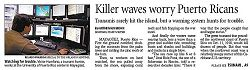 Orlando Sentinel: Killer waves worry Puerto Ricans